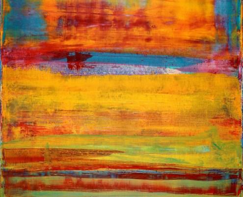 SOLD - Outside the Window 3 By Nestor Toro