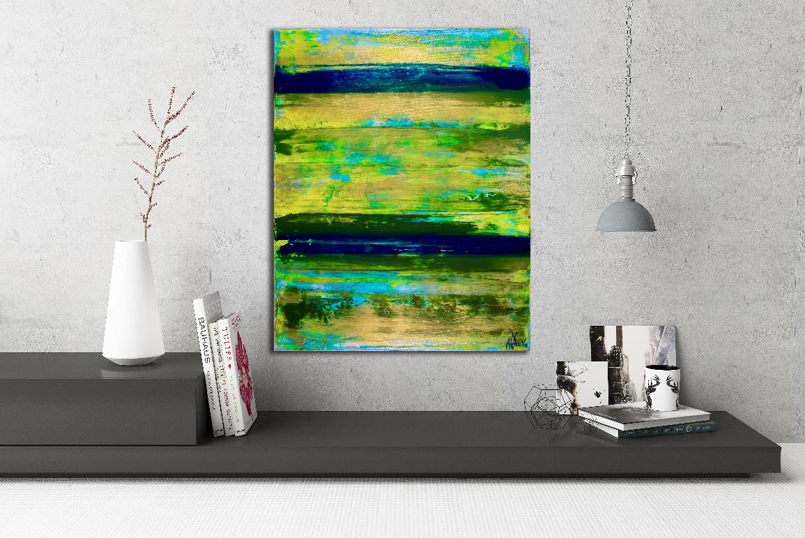 Green Horizon by Nestor Toro