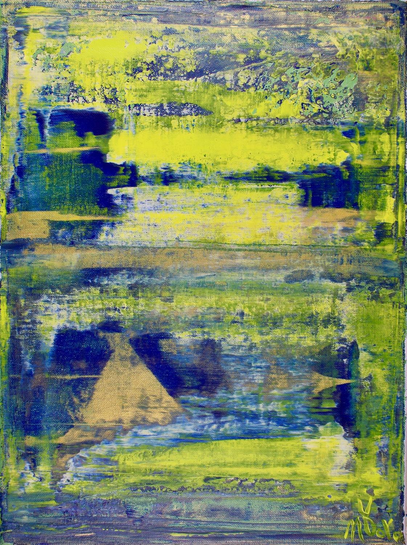 Climb by Los Angeles abstract painter artist - Nestor Toro