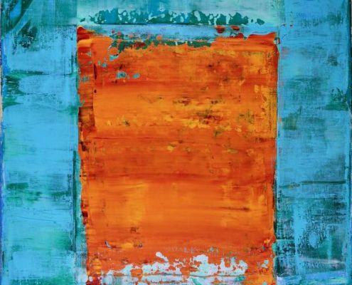The Panoramic Window - SOLD - Abstract art by Nestor Toro view at nestortoro.com