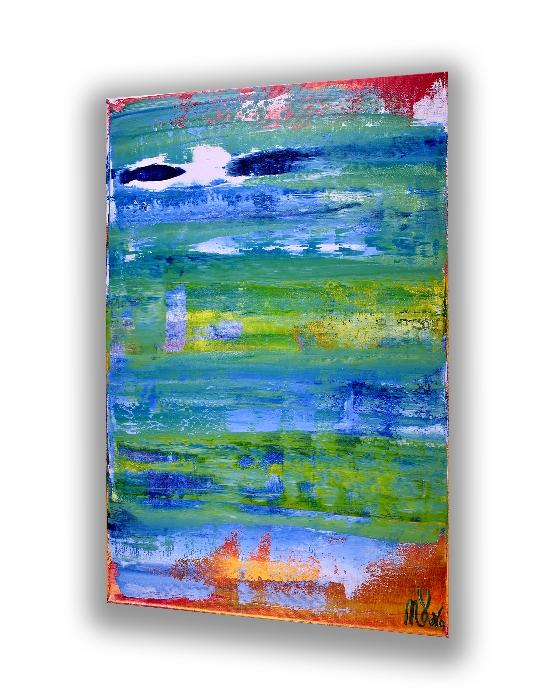 The Edge of Spring 2 (2018) Acrylic painting by Nestor Toro
