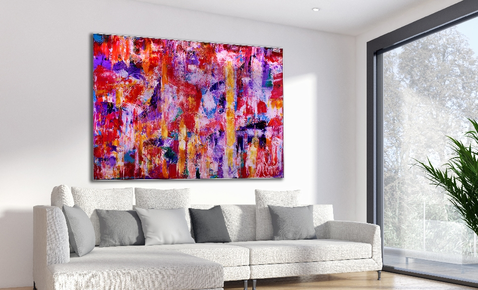 Passion Spectra by Nestor Toro - 36 x 48 inches