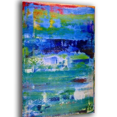 The Edge of Spring (2018) Acrylic painting by Nestor Toro