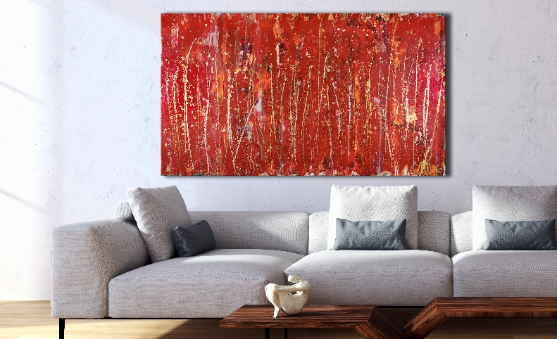 Like Thunder (2018) Acrylic painting by Nestor Toro