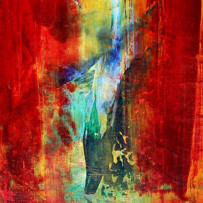 Summer Daydreaming IV (2018) Acrylic painting by Nestor Toro