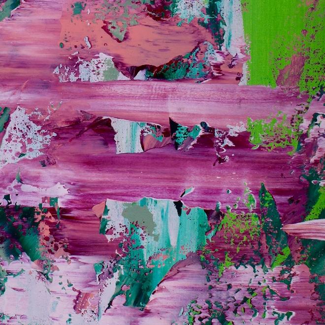 Distant Gardens (2018) Acrylic painting by Nestor Toro