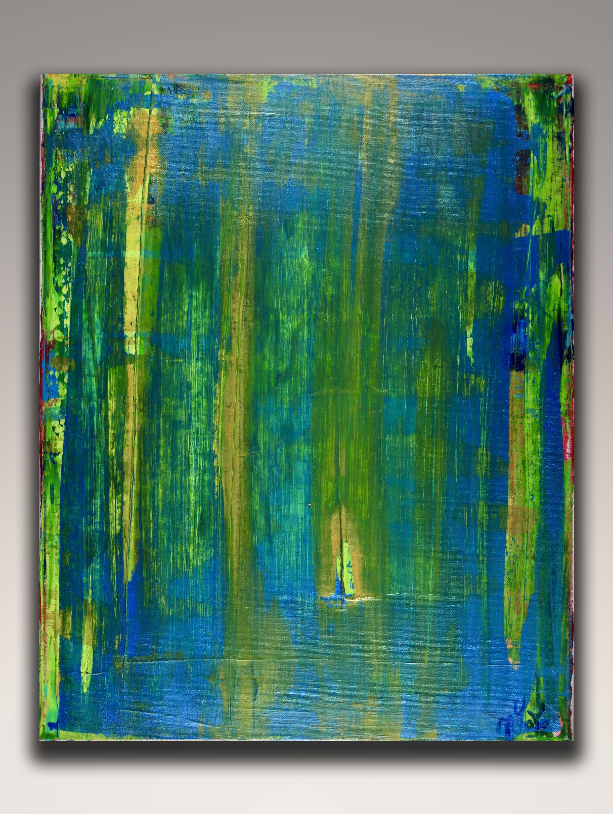 Unknown Distant Object - ABSTRACT ART - NESTOR TORO - LOS