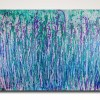 Drizzles and Minerals (2018) abstract art Acrylic painting by Nestor Toro