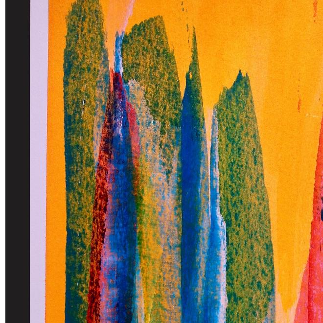 Hidden in Nature (2018) - Art on paper by Nestor Toro Los Angeles