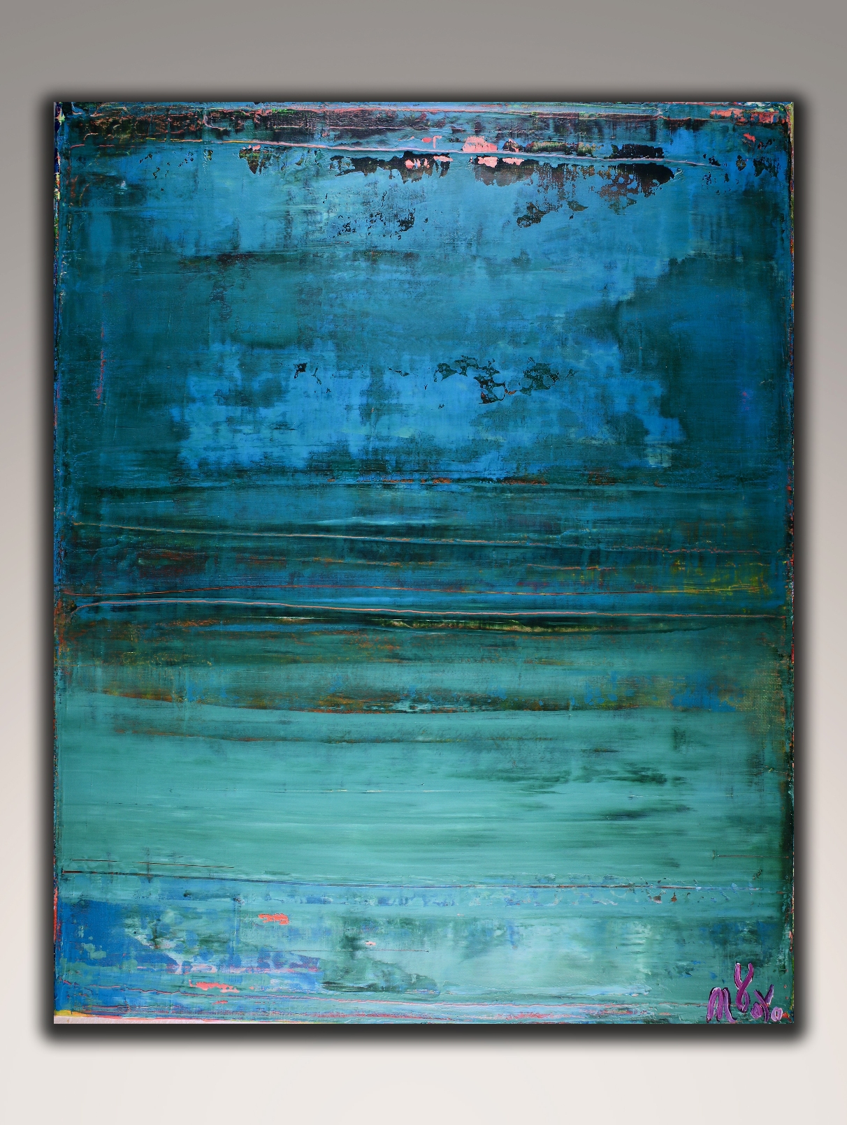 Maritime Spectra by Nestor Toro (2018) abstract art Acrylic painting