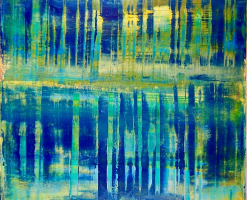 SOLD - Infinite Abstract Forrest by Nestor Toro