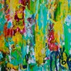 SOLD - Secret frenzy (2018) Expressionistic Acrylic painting by Nestor Toro