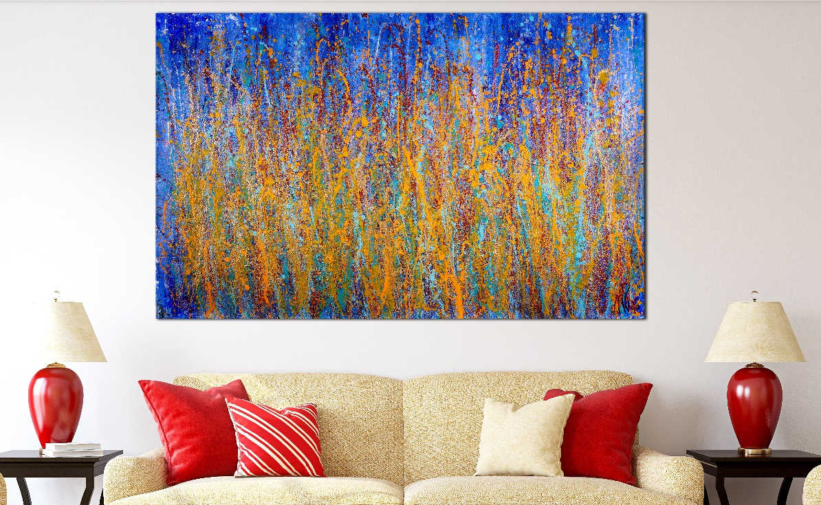 Room View - SOLD - A Closer Look (Drizzles Delight) – NEW SERIES 2019 by Nestor Toro