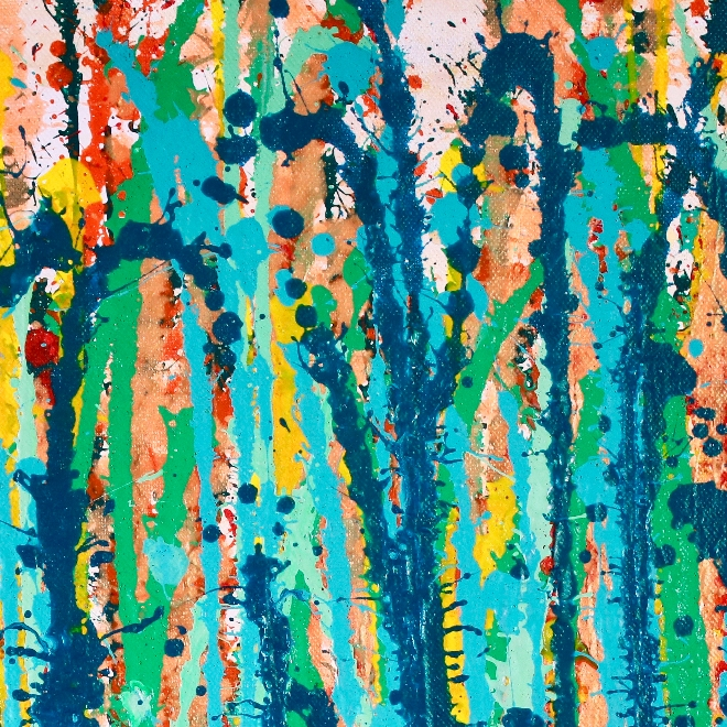 DETAIL- The sound of Raindrops by Nestor Toro