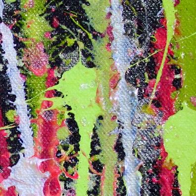 A Closer Look (Garden luminance) - Large Abstract