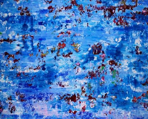 SOLD - Ocean serenade by Nestor Toro (2019) Los Angeles