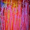 Planning the Future by Nestor Toro (2019) abstract Acrylic painting by Nestor Toro