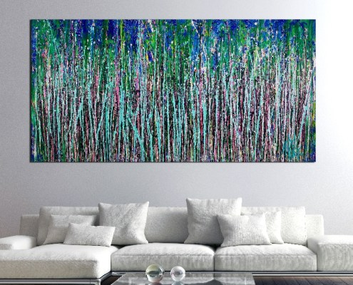 SOLD -A Closer Look (Wild forest dream) by Nestor Toro
