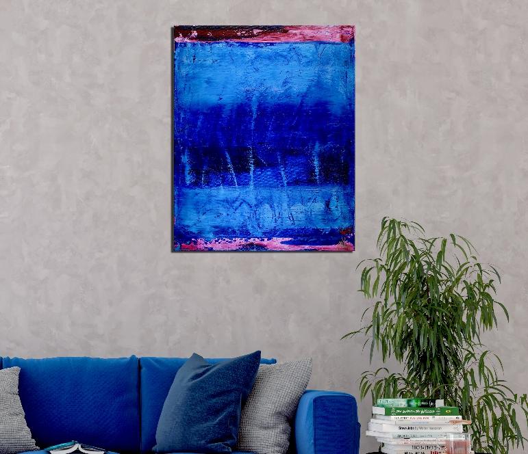 room-view - Celeste (Sky Blue) by Nestor Toro