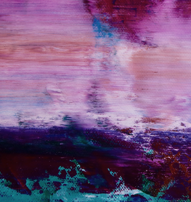 Abstract Landscape |Aerial west coast view by Nestor Toro (2019)