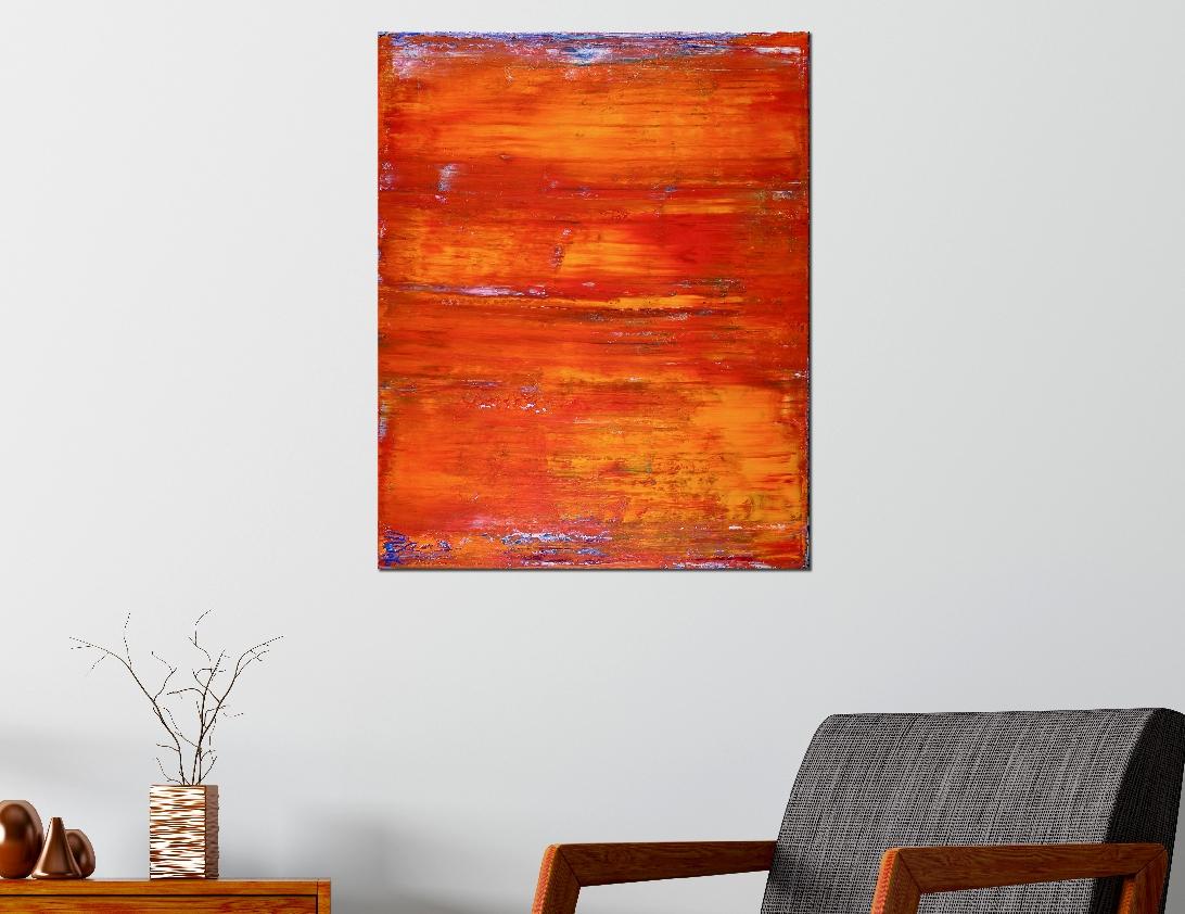 Sunset Paradise (Orange Spectra) by Nestor Toro