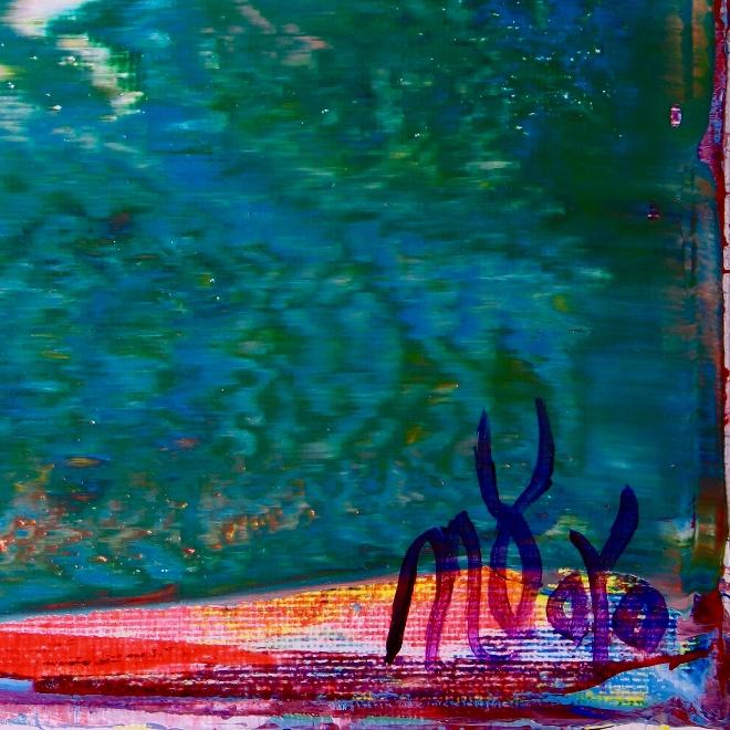 Signature - Shades of Aqua Green by Nestor Toro