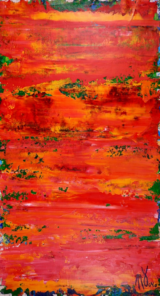 Bold Orange by Nestor Toro - Sold