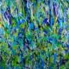 FULL CANVAS - Detail - Regrowth (Lush Greenery) by Nestor Toro