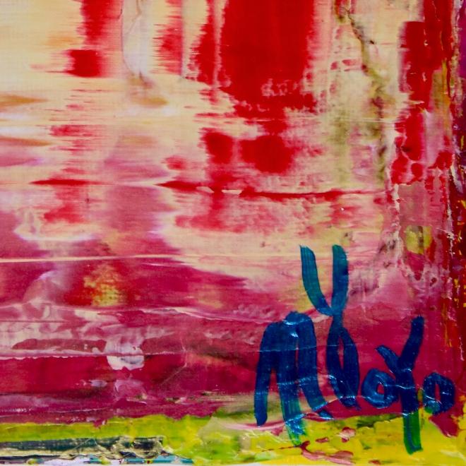 Dimensional Red by Nestor Toro 2019 Los Angeles