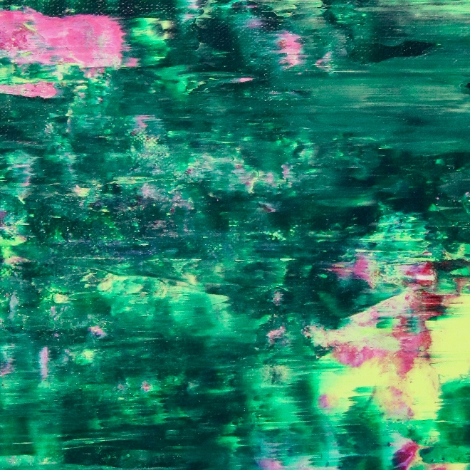 Green Forest Frenzy by Nestor Toro 2019 Los Angeles