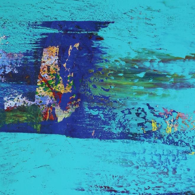 DETAIL - Blue (Coast Paradise) by Nestor Toro in Los Angeles 2019