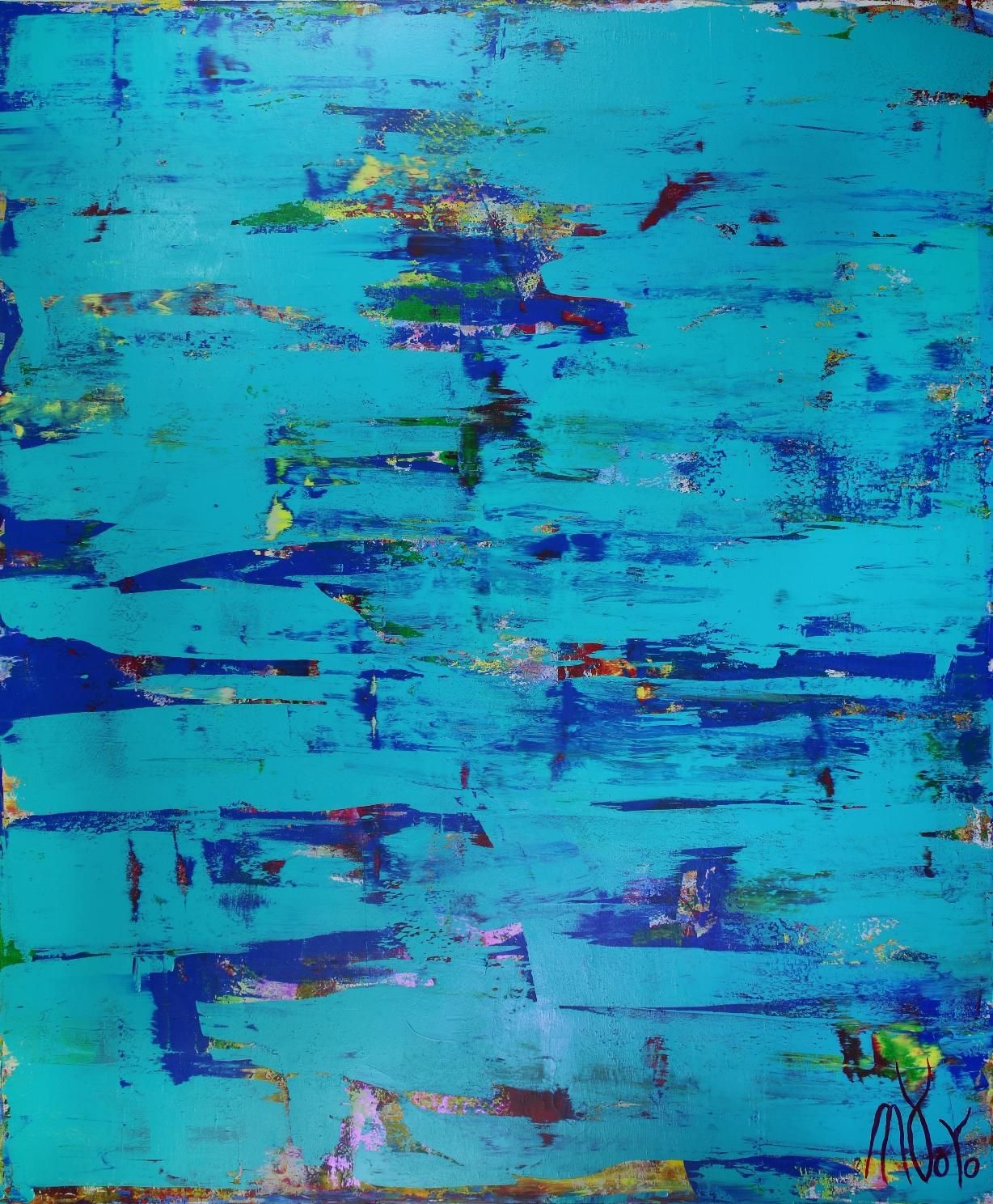 Blue (Coast Paradise) by Nestor Toro in Los Angeles 2019