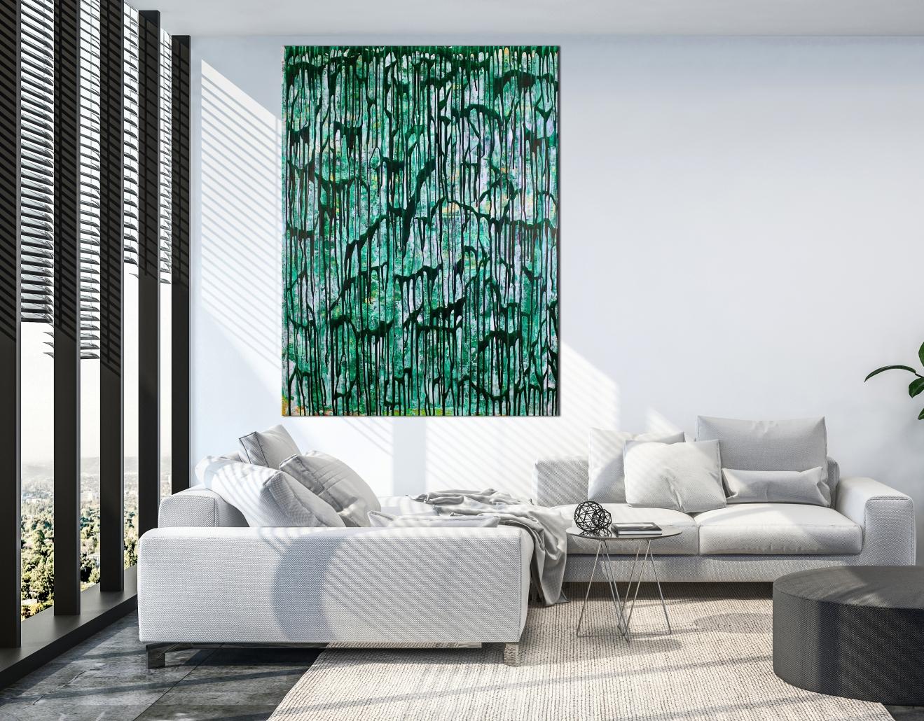 Room View - Green Gravity by Nestor Toro in Los Angeles