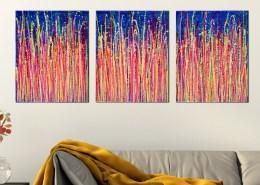 SOLD - Daydream Panorama 3 (Blinding Lights) by Nestor Toro 2019 - Los Angeles