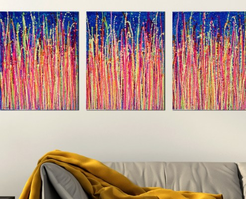 SOLD - Daydream Panorama 3 (Blinding Lights) by Nestor Toro 2019 - Los Angeles
