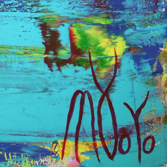 Signature - Blue (Coast Paradise) by Nestor Toro in Los Angeles 2019