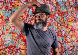 Artist Nestor Toro in Los Angeles 2019