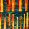 Close up - Metallic Spectra and Light Intrusions by Nestor Toro 2019 - Los Angeles