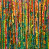 Detail - Fragmented garden (A closer Look) by Nestor Toro (2019) Los Angeles
