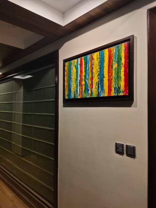 Artwork on the balcony - Nestor Toro