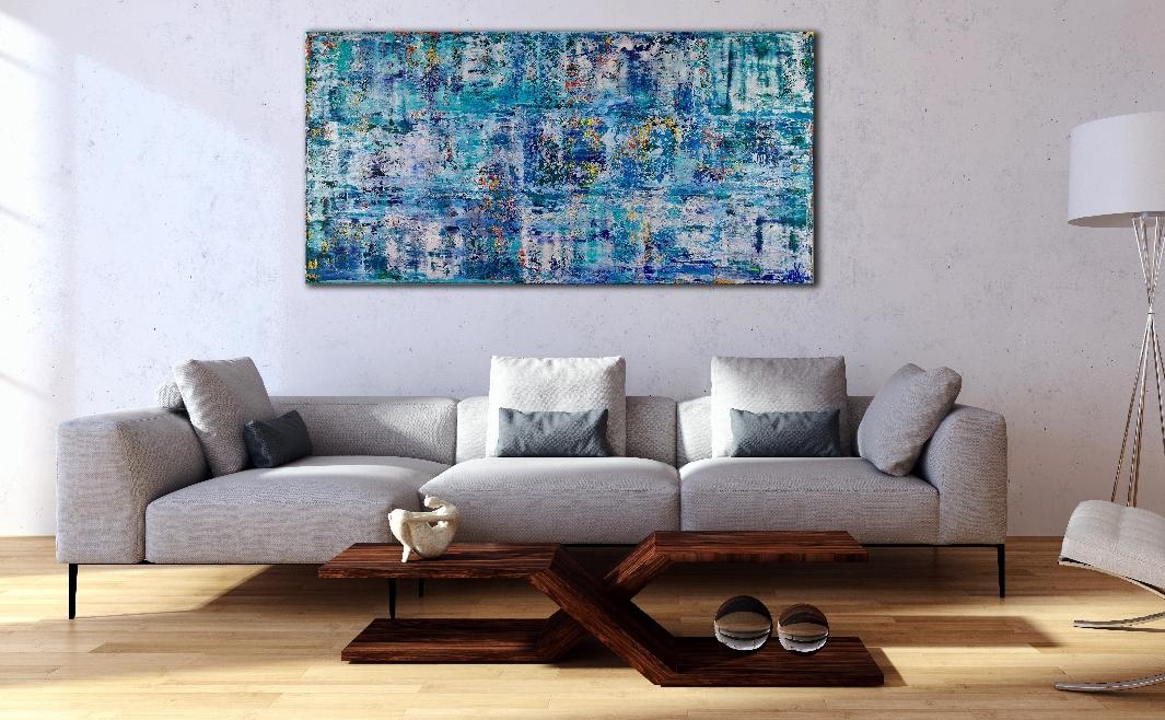 Sapphire Spectra (Blue Lakes) by Nestor Toro 2019 Los Angeles
