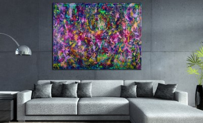SOLD - Echoes (Narcissistic Garden) by Nestor Toro 2019 Los Angeles