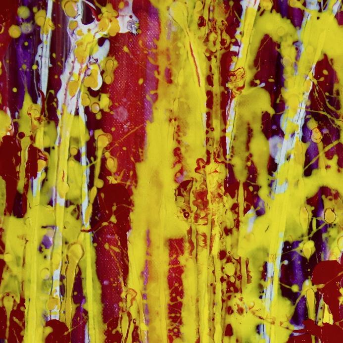 Detail - A Delicate Chaos (Metallic Spectra) by Nestor Toro