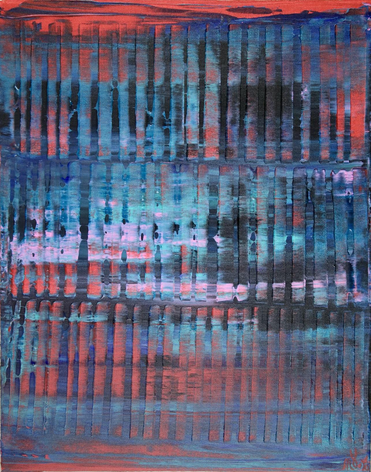 Nighttime Shadows and Lights (22x28) by Nestor Toro 2019