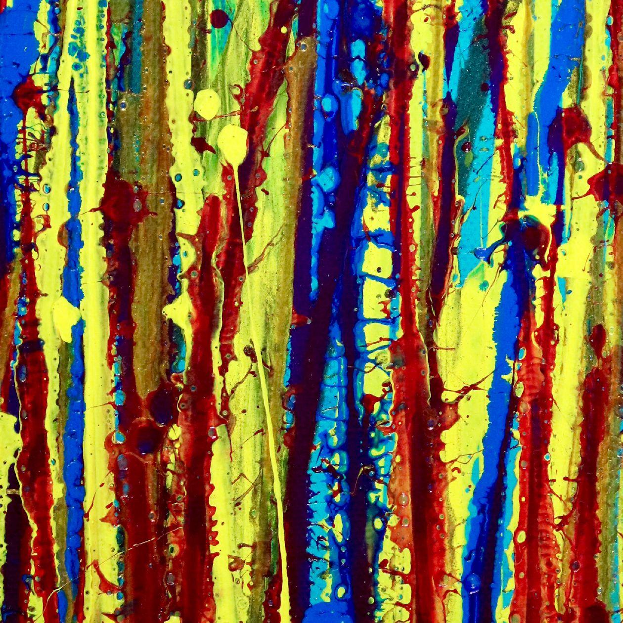 SOLD - Shimmering Garden 2 (Flow State) by Nestor Toro