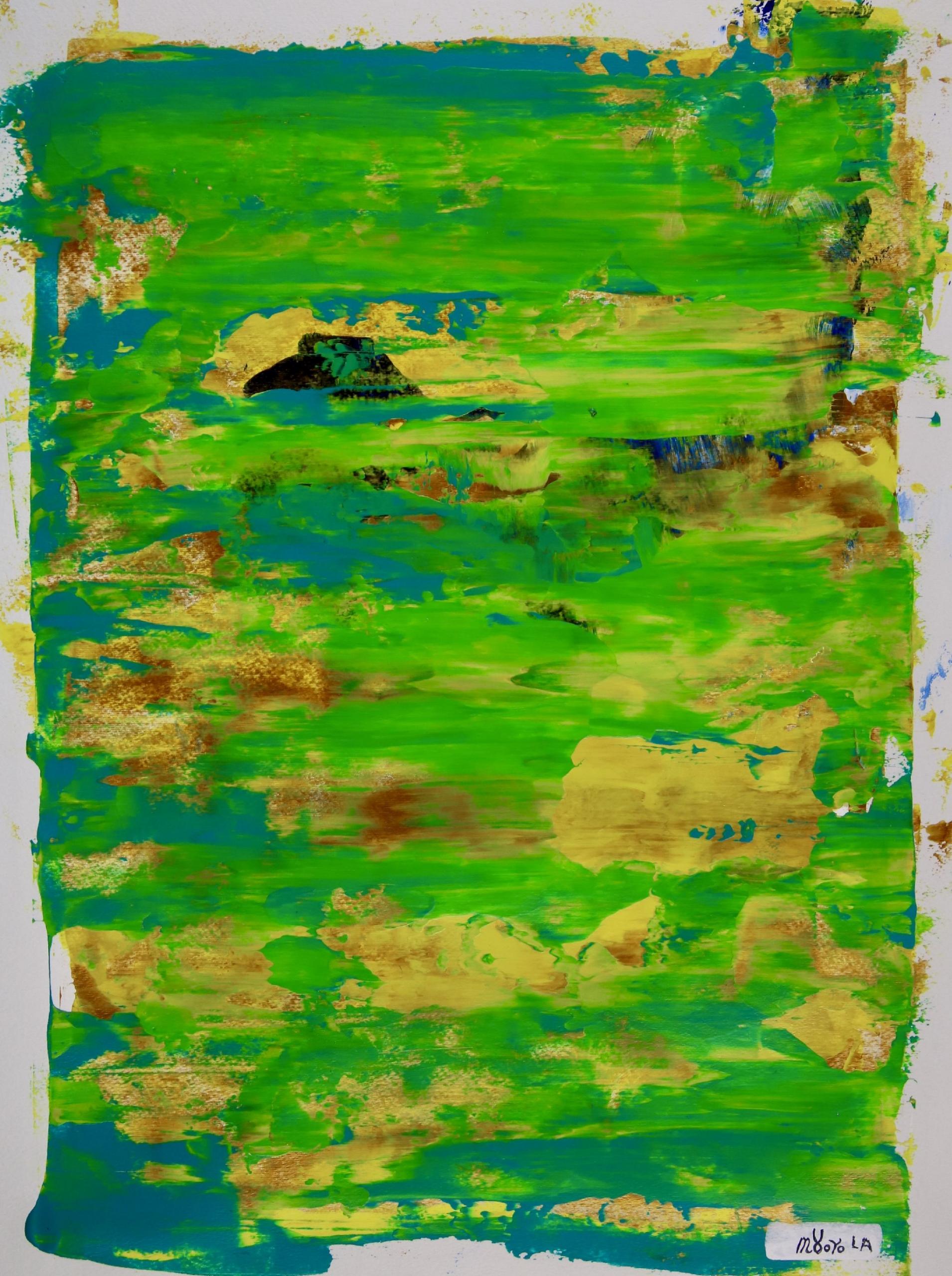 Full Canvas -Dreams in the Caribbean by Nestor Toro