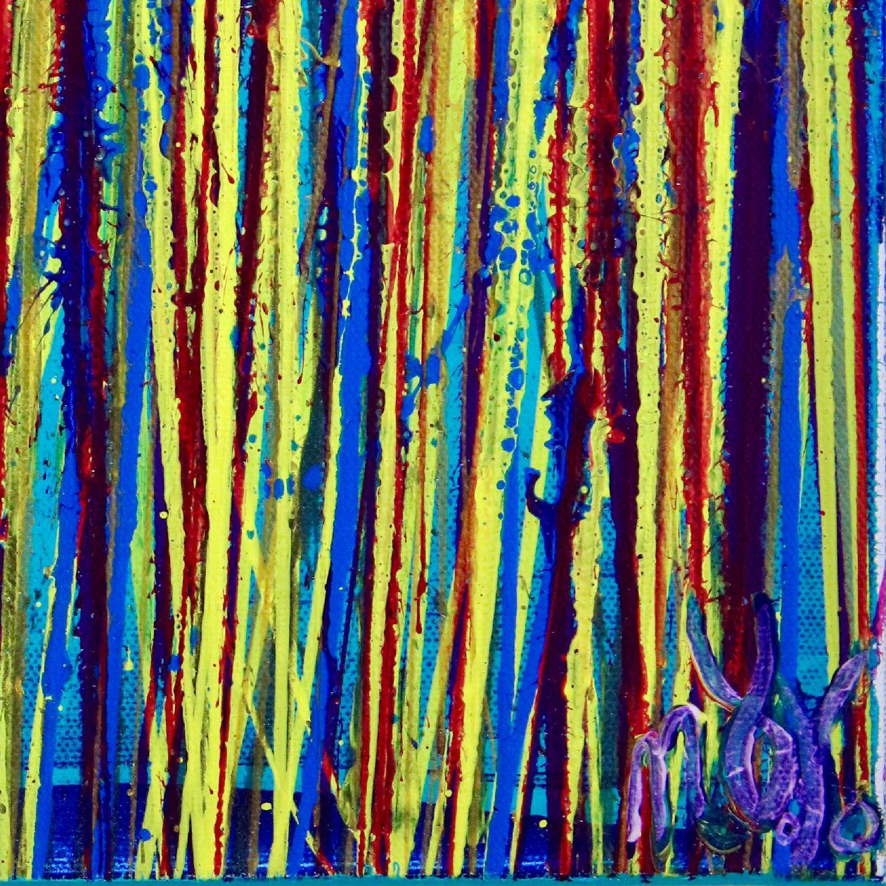 Signature - SOLD - Shimmering Garden 2 (Flow State) by Nestor Toro