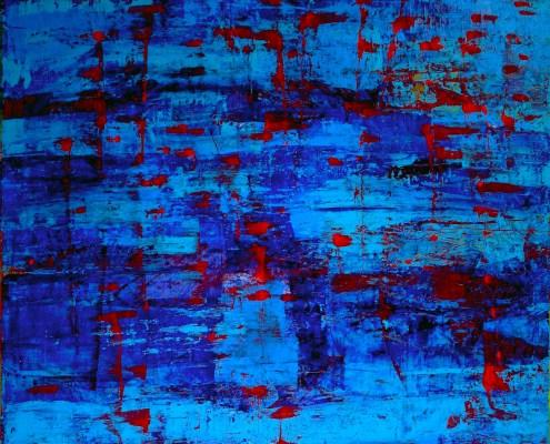 SOLD - Under Blue Skies by Nestor Toro