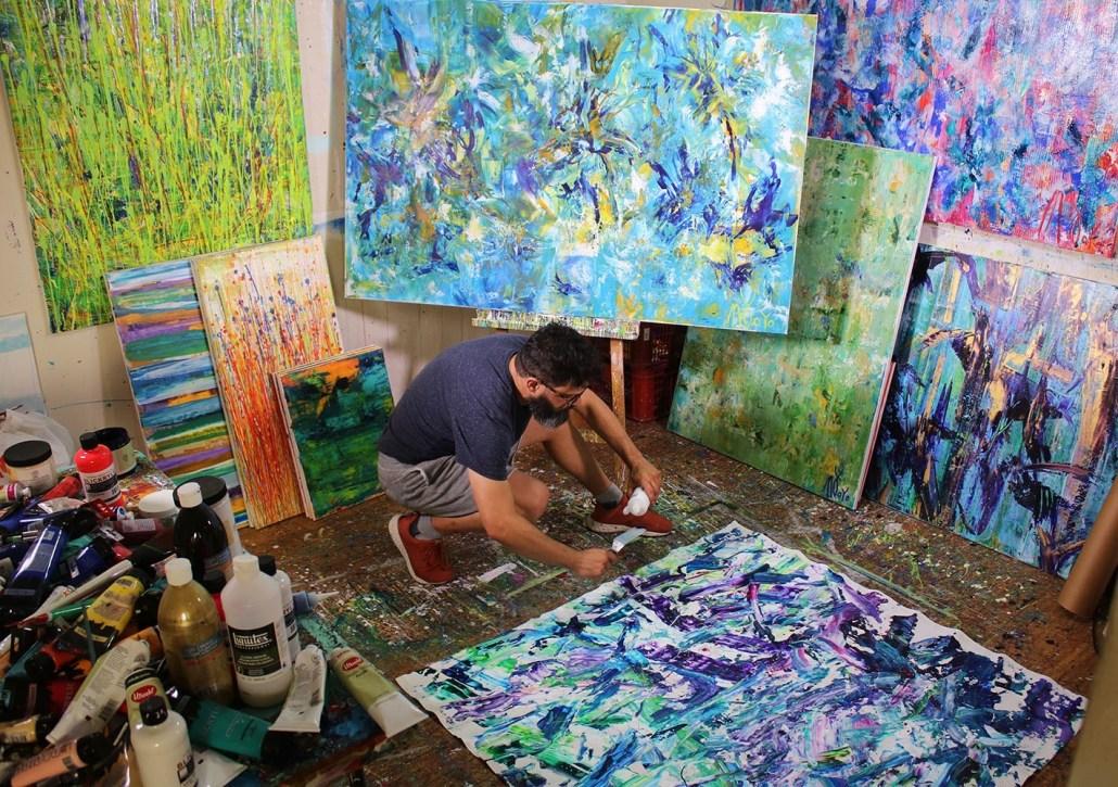 Los Angeles Painter - Nestor Toro