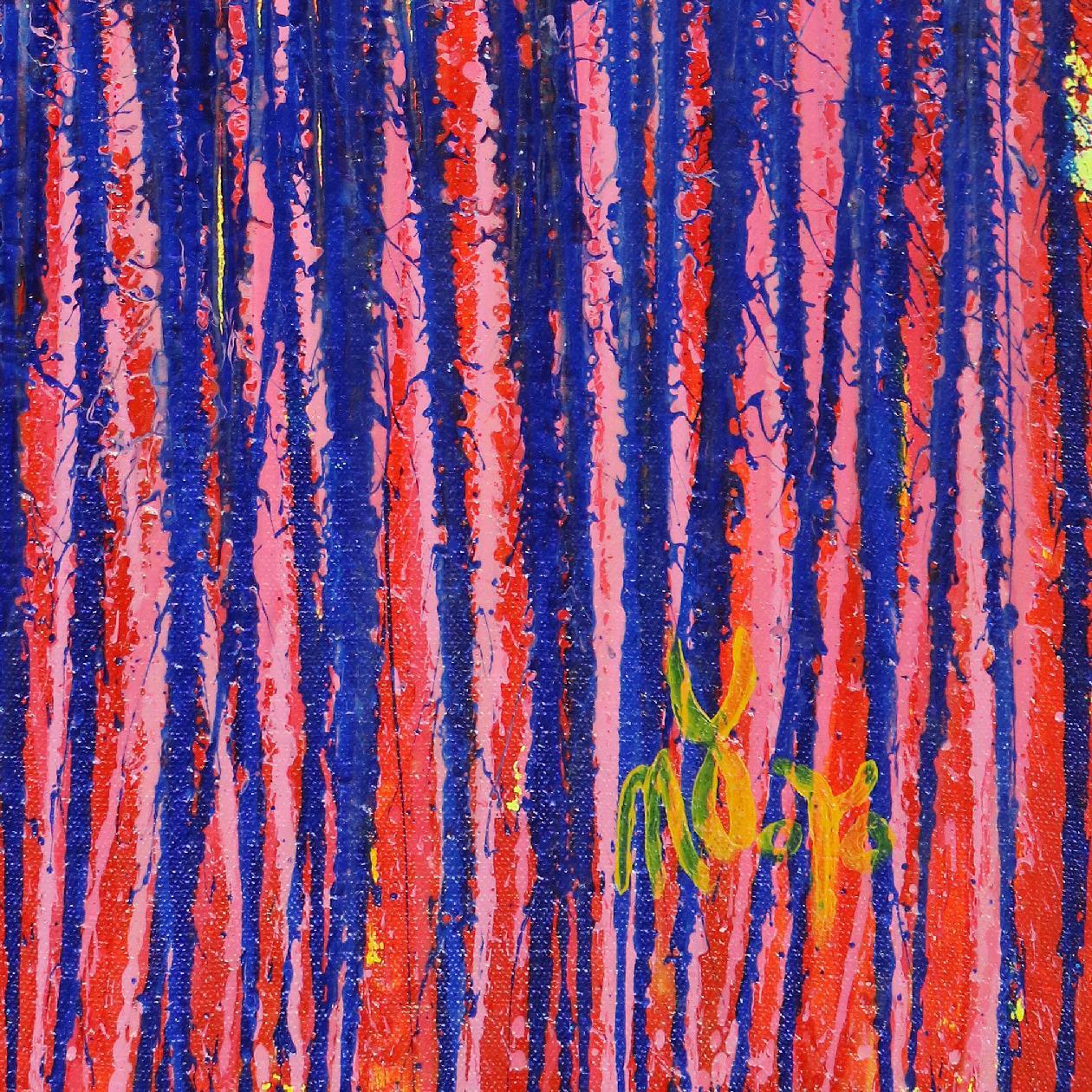 Signature - Detail - Daring Spectra #3 (2020) by Nestor Toro